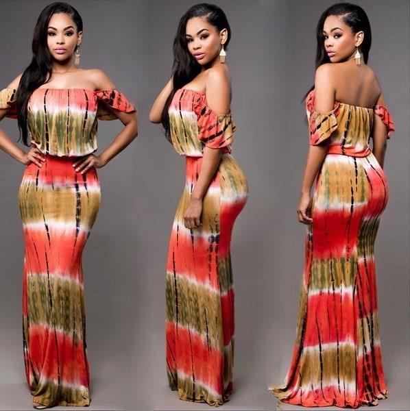 Women Ladies Summer Dress Maxi Long Evening Party Dress Beach Dress Sundress
