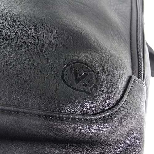 【送料無料】VANQUISH/ヴァンキッシュ/リュック◎PUレザーデイパック《シガーポケット》☆パスケース付属(28×47×18cm)メンズブランド/ファッション雑貨かばん通販☆シネマコレクション◆