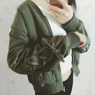 アウター 春物 ジャケット トレンド おすすめ ガーリー シンプル 無地 通学 デート
