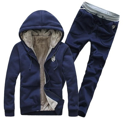 Assassins Creed Winter Tracksuits Male Hoodies Men Sport Suits Fur Lining Jacket Jogging Pants And S