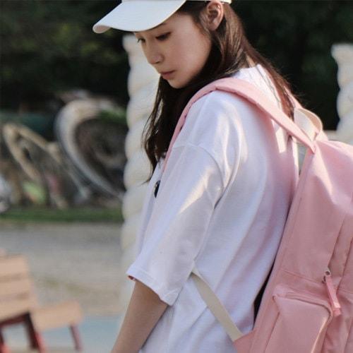 ★送料無料★Bubilian 5Dリュック優秀な収納力収納ポケット韓国大人気のリュックサック韓国ファッションPC収納リュックショーおしゃれ通学通勤大容量かわいいリュック