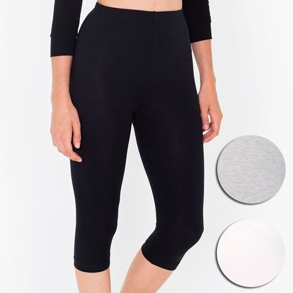 XS-XXXL Women Solid Casual Strentch Leggings Cropped Trousers Sexy High Waist Skinny Pants