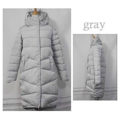 Elexs 2017冬のロングコートスリム肥厚タートルネック暖かいジャケット綿パッド入りジッパープラスサイズ生き抜くTsp8913