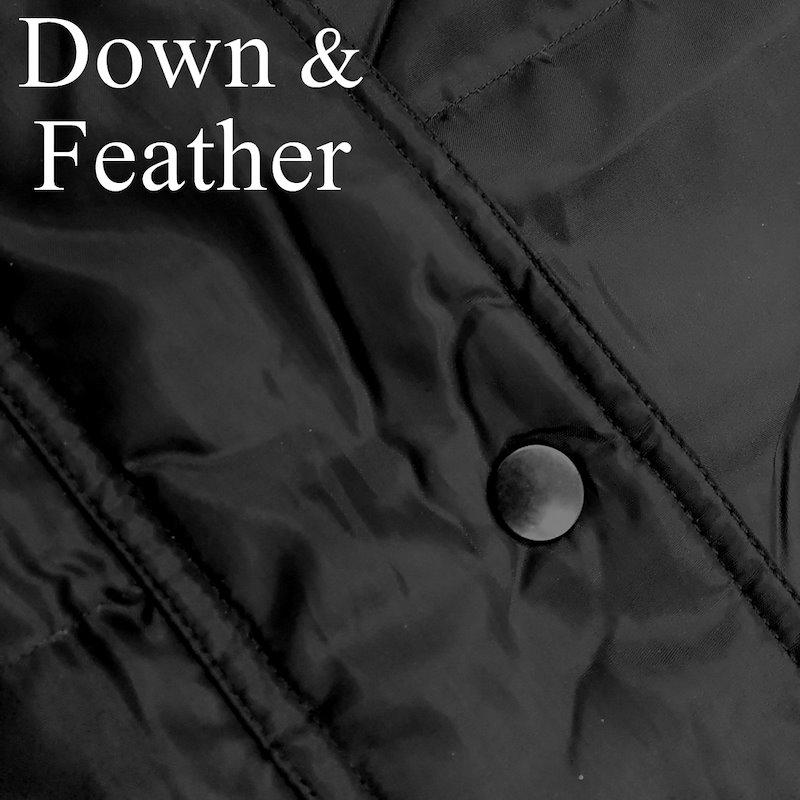 ★国内発送★【送料無料】Down  Feather ロングコート