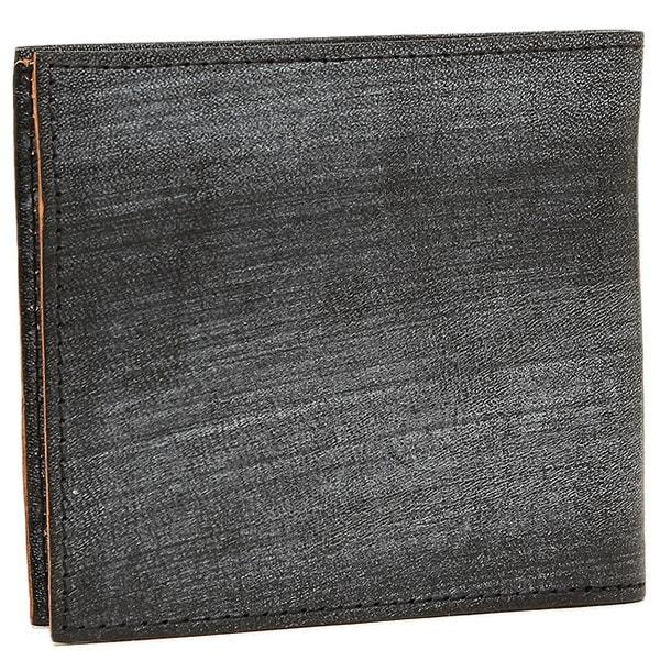 ディーゼル 財布 DIESEL X03918 PR602 T8013 HIRESH S メンズ 二つ折り財布 BLACK