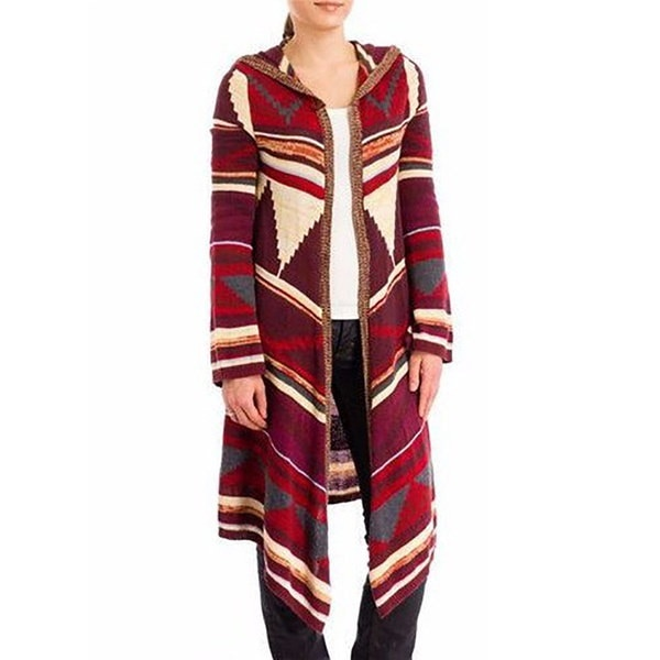 女性のファッションウィンタースプリングロングスリーブギフト特別なシャツジオメトリスペルカラー不規則なロングカラー