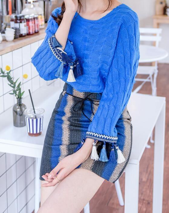 レディース ニット セーター トップス  新作 長袖 ファッション