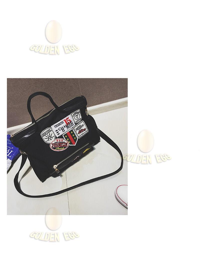 カンバスレディースファッションバッグ/ハンドバッグ/通勤/通学/かばん/ 2 colors-DJNP73 model