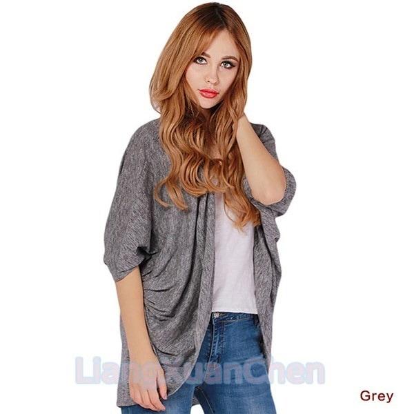 Women Tops New Fashion Coat Bat Cardigan Shirt Spring Autumn Winter Jacket