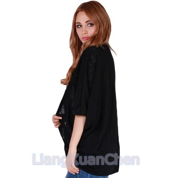 Women Tops New Fashion Coat Bat Cardigan Shirt Spring Autumn Winter Jacket
