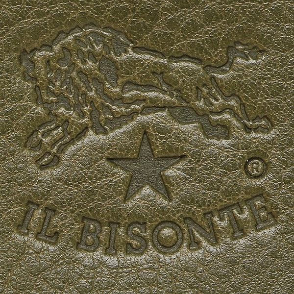イルビゾンテ 財布 IL BISONTE C0986 P 482 長財布 VERDE MILIRARE