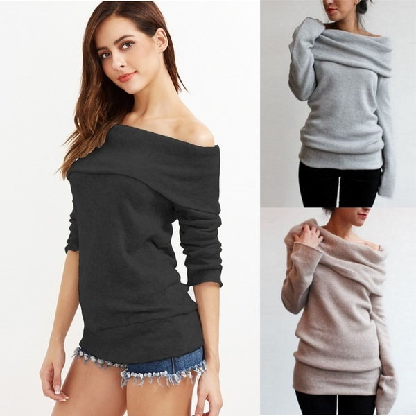 Fashion Womens Winter Long Sleeve Pullover Hoodie Jacket Sweater Coat Hooded Jumper Tops