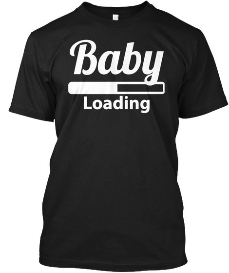 ベイビーローディングマタニティ妊娠ヘインズタグレスティーTシャツ