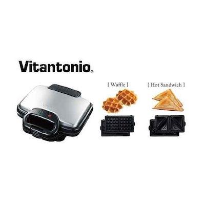 ビタントニオVitantonioVitantonio ワッフル&ホットサンドベーカー / VWH-100-K