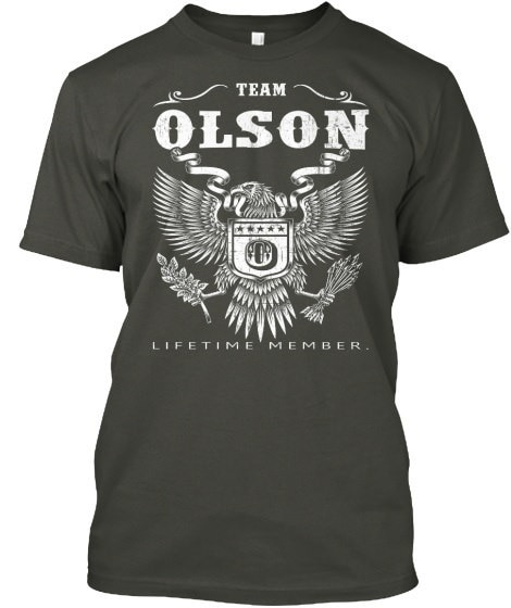 OLSON [view more names here] Hanes Tagless Tee