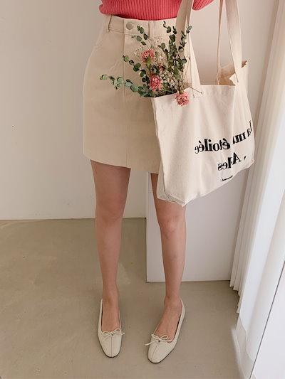 [LOVESOMEONE] ベーシックAラインミニスカート