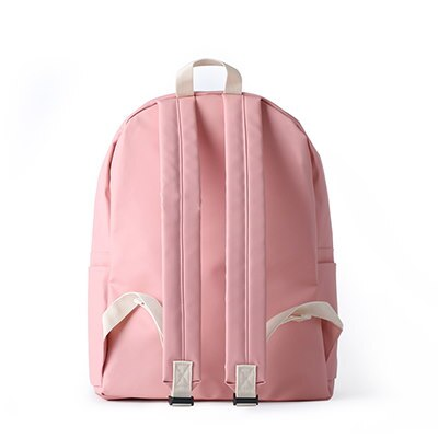 [BUBILIAN]防水バックパック - Pink /韓国の街ブランド/韓国と日本のベストセラーリュックサック/ベーシックリュックサック/スーツケース/学生かばん/都市トレンディーリュックサック