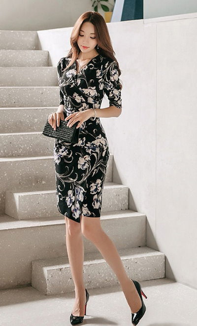 レディース 結婚式 ドレス ロングワンピース 黒ワンピース パーティードレス ドレス 韓国ファッション ワンピース ワンピース 大きいサイズ オルチャンファッション オルチャン 赤 ドレス