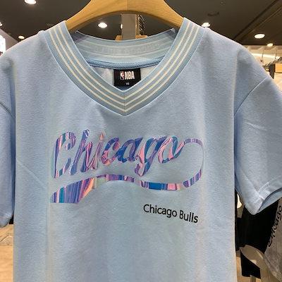 [SAY公式ストア]【NBA】CHIルーズフィットVネックTシャツ(N192TS704P)