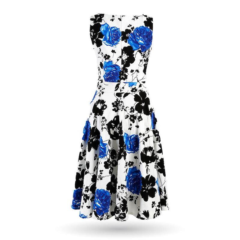 2016夏の スタイル花柄マキシ ドレス女性ビーチ ロング プリント ドレス カジュアル緩い シフォン ノースリーブ の ドレス プラス サイズ
