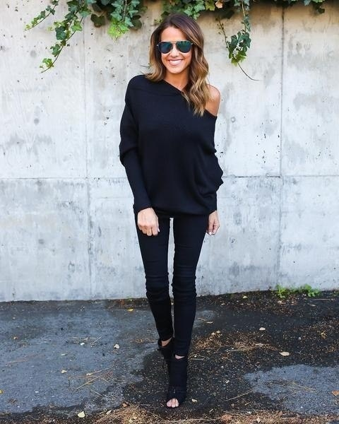 Sexy Fashion Casual Off Shoulder Batwing Sweater Knitwear Pullover Outwear Jumpe