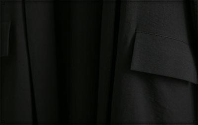 韓国ファッション オルチャンファッション レディース ロング オルチャン バックスリット ガウン ★アウター コーディガン コート