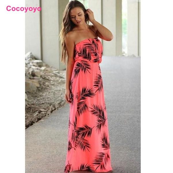トップ売りレディースファッションセクシーな夏のノースリーブバックレスロングマキシドレス