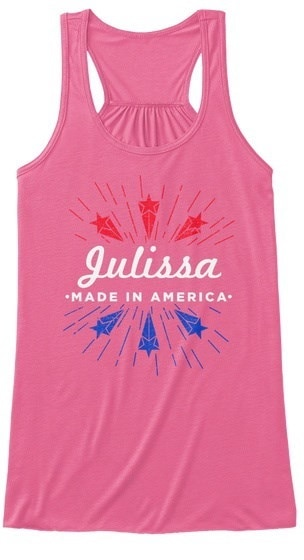 Julissa   Made In America BELLA+CANVAS Women s Flowy Tank