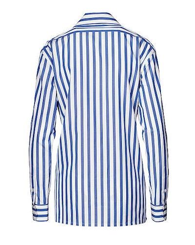 Striped Cotton Shirt_113393646