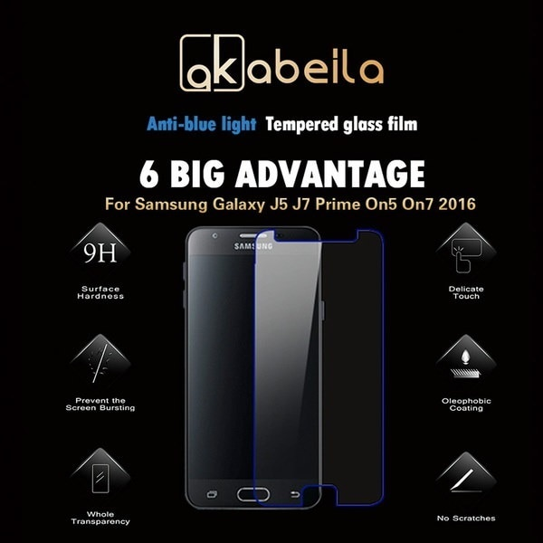 FYHAI Tempered Glass Film For Samsung Galaxy J5 J7 Prime On5 On7 2016 G570 G570F/DS G570Y G570M G570