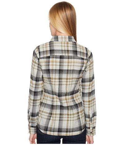 The North Faceノースフェイス レディース シャツ トップス Long Sleeve Willow Creek Flannel