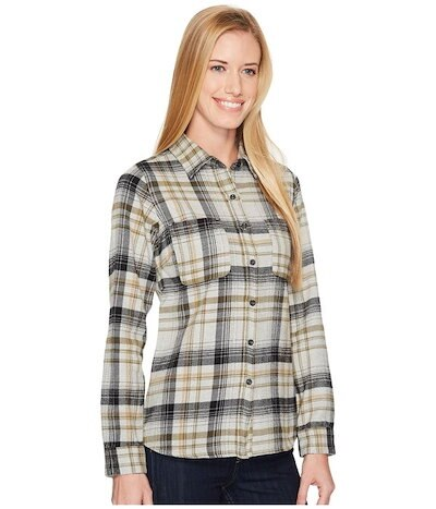 The North Faceノースフェイス レディース シャツ トップス Long Sleeve Willow Creek Flannel
