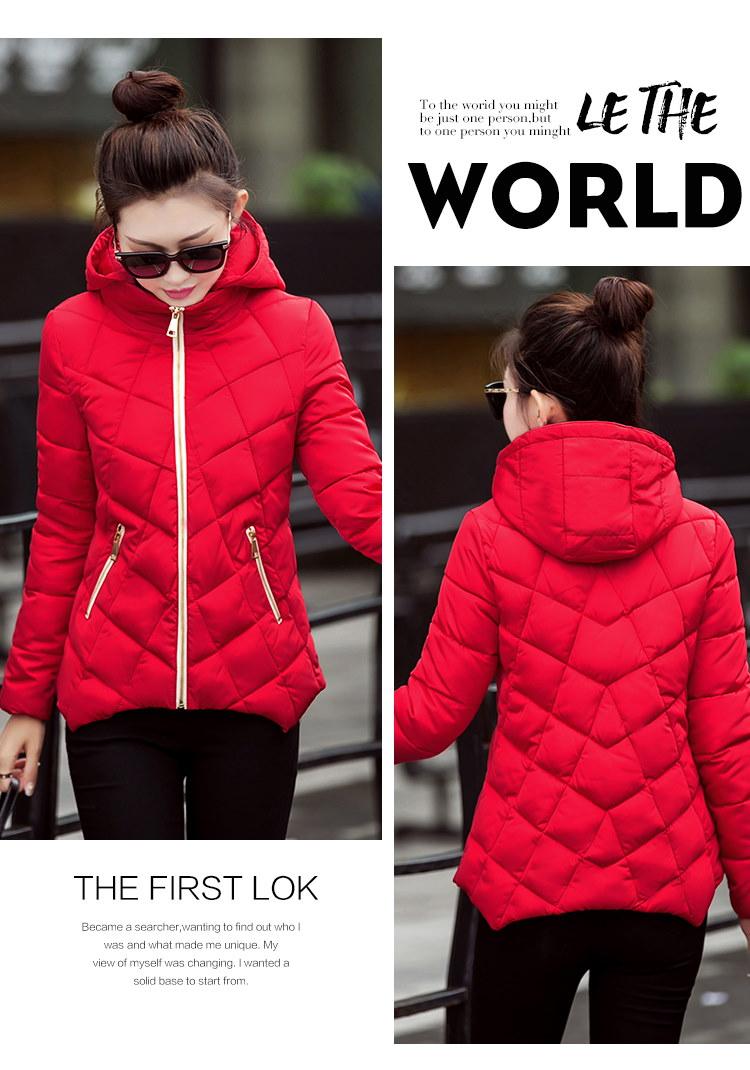 【送料無料】人気 新型★秋と冬の新しい短い段落の綿、ダウンジャケットの綿ジャケットジャケット韓国語バージョン、女性の暖かいジャケット