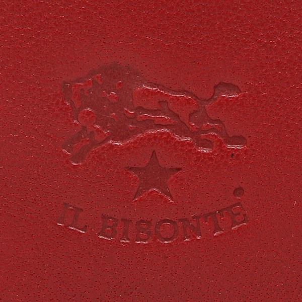 イルビゾンテ カードケース IL BISONTE C0567 P 245 カードケース ROSSO