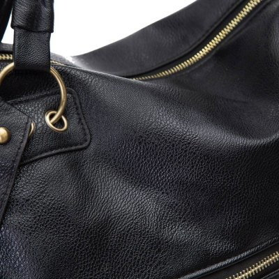Fashion Tassels and Rivets Design Women s Tote Bag