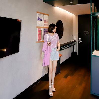 VIVARUBY (韓国ファッション)♥大ヒット商品超特価♥韓国ファッション女性服1位『VIVARUBY』♡メタルソフトティー♡品質!  P0000YMO