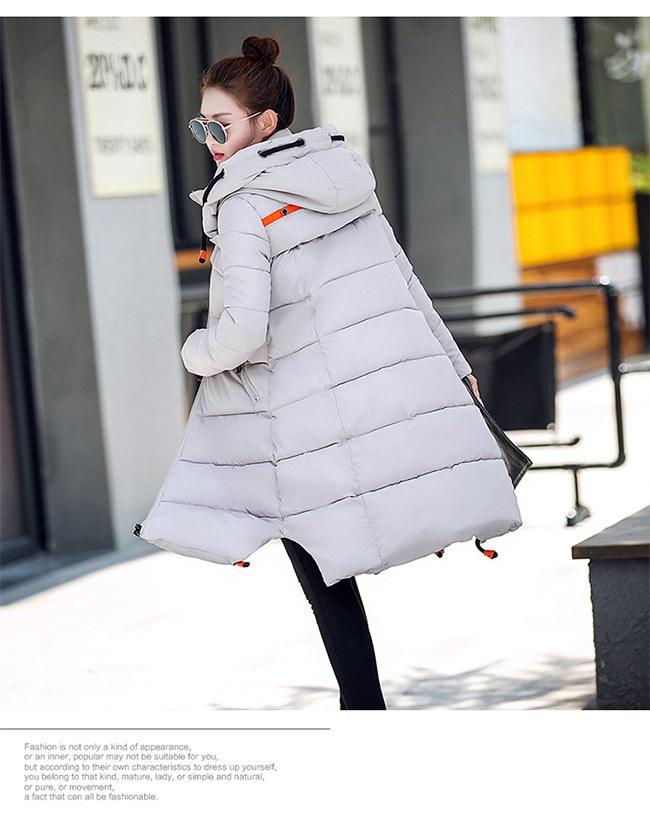 ダウンコート コート アウター ダウンコート 防寒 流行のデザインに仕立てた ダウンジャケット  ロングタイプ 軽量 アウター ロング 長め しっかり暖か 新作 冬 女性用 柔らかい 軽い着心地あった