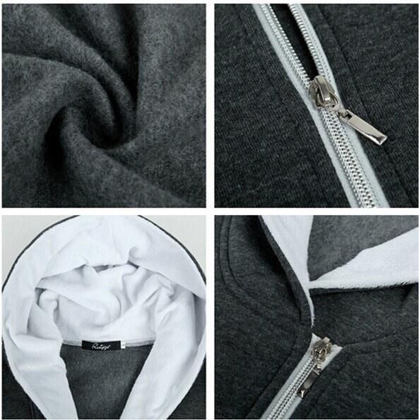 女性パーカーセーターコートジャケットトップヒョウプリントジップスウェットコート