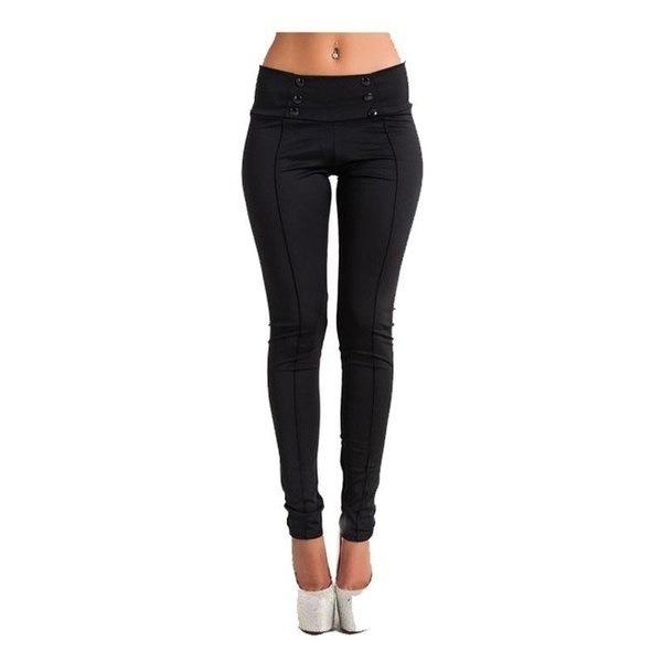 Black Gray White Women Casual Stretch Skinny Leggings Pencil Pants Slim Trousers XXS-3XL