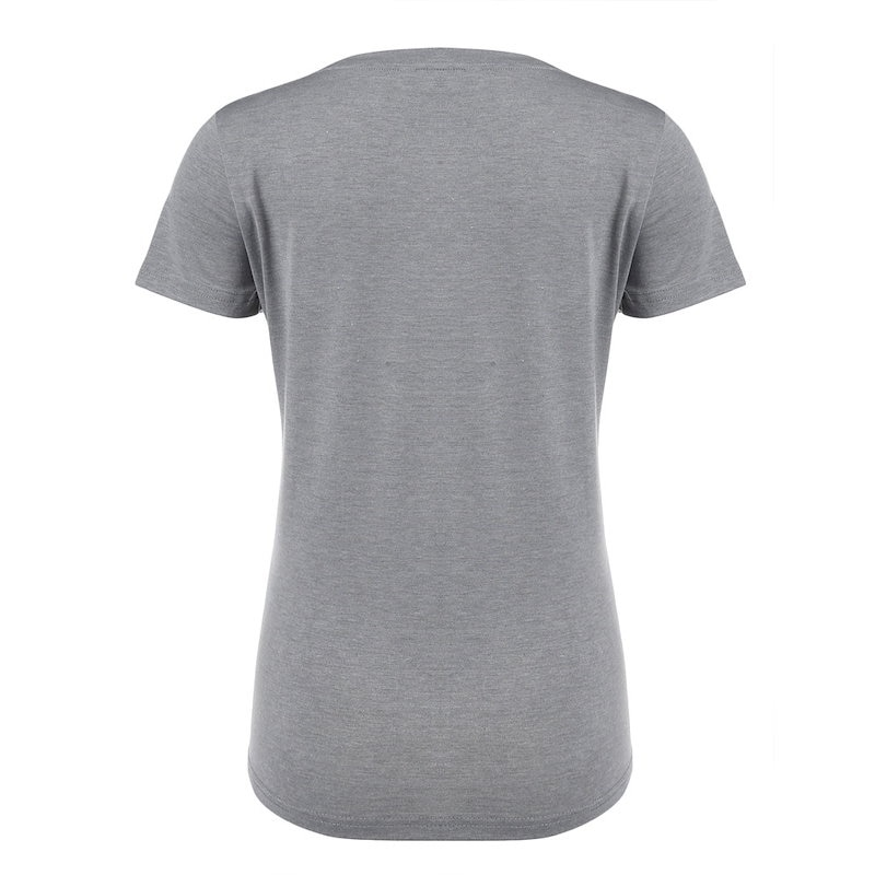 女性のかわいいOネック半袖プリントカジュアルTシャツトップティーシャツ