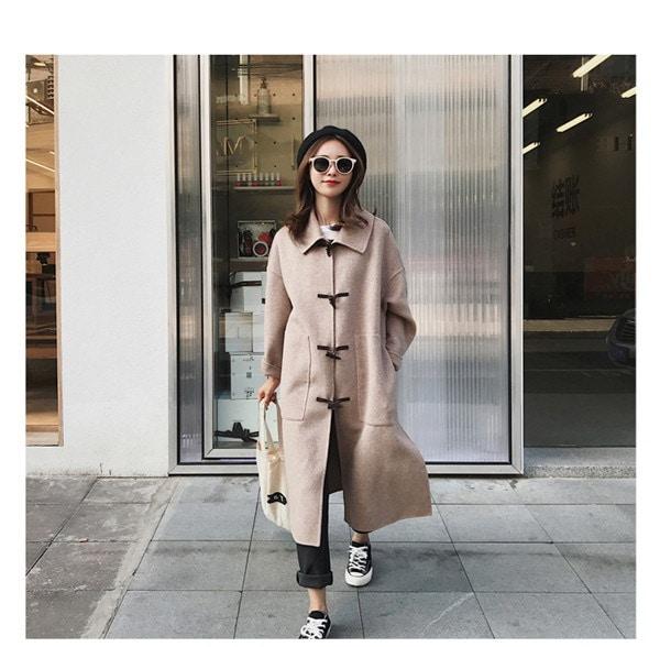 [55555SHOP]レディース 新作 人気 OL コート ロングジャケット 通勤 保温トレンチコート