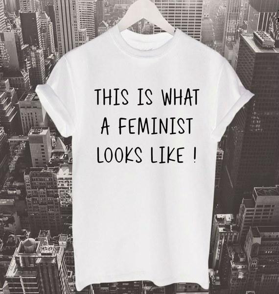 これはフェミニストのようなものですTシャツビヨンセTシャツフェミニストシャツ女性Tシャツコットンカシュ