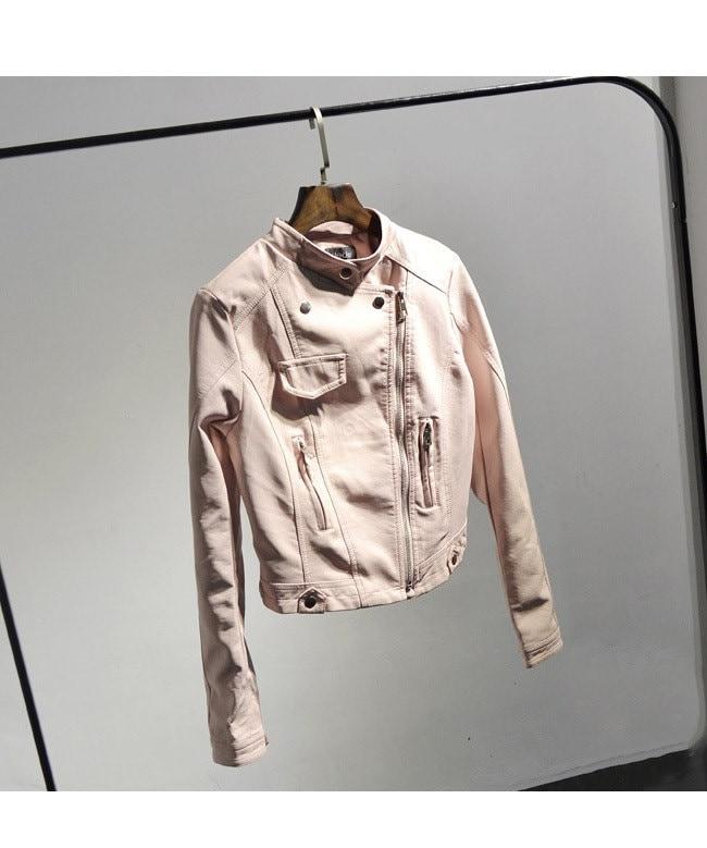 ジャケット PU革 アウター コート レザージャケット ライダース 革ジャン 合成皮革 アウタージャケット  レディースファッション 韓国ファッション フェイクレザー 2017春 おしゃれ
