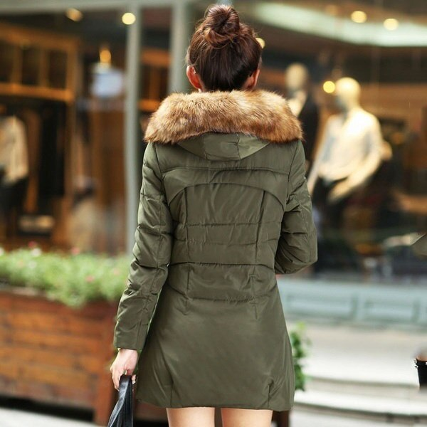 2017 Winter Women Fashion Warm Coat Down Jacket Winter Coat