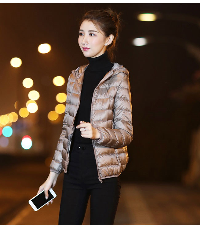 レディース服 女性 大人 冬服 コート アウター ダウンコート ダウンジャケット インナー シンプル 軽い たためるタイプ 収納しやすい アウトドア