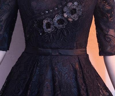 20代 結婚式のお呼ばれにもおすすめアジアンテイスト風総レースひざ丈ドレス 送料無料 お呼ばれ 大人かわいい ワンピース 結婚式 ドレス
