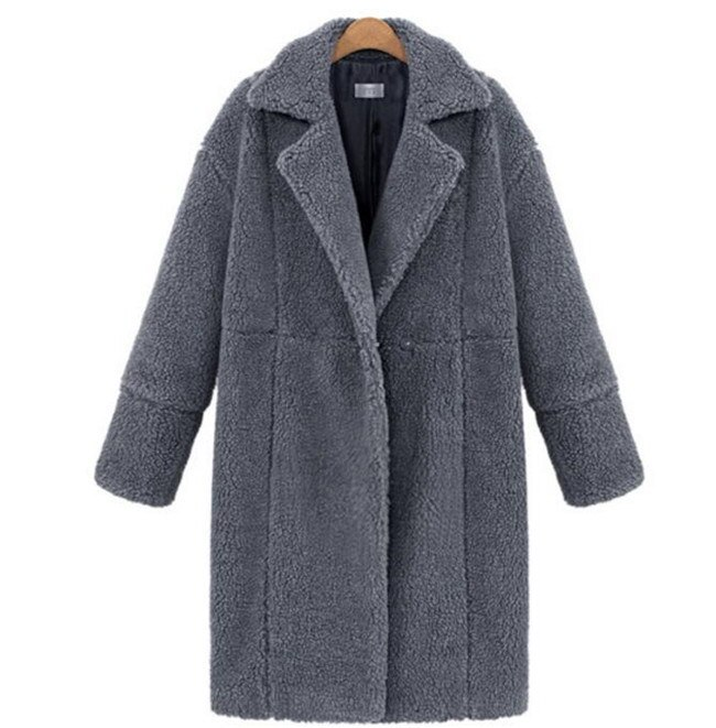 ファーコート レディース  ボアフリースコート  もこもこ 韓国ファッション   ジャケット  秋 冬 毛  上品 暖かい 長袖 トレンド 大人 ブラック アウター ファースウェット  ロング丈