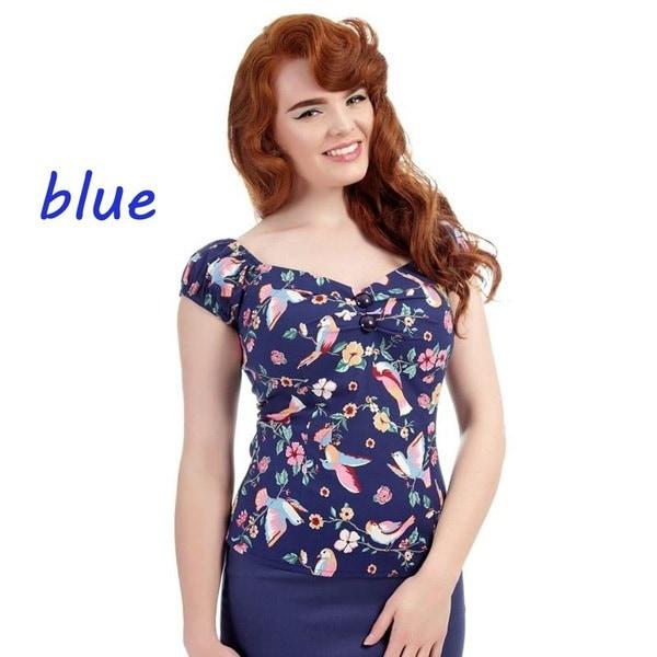 プラス大きなサイズの半袖花プリントセクシーなVネックシャツ夏セクシーなトップス