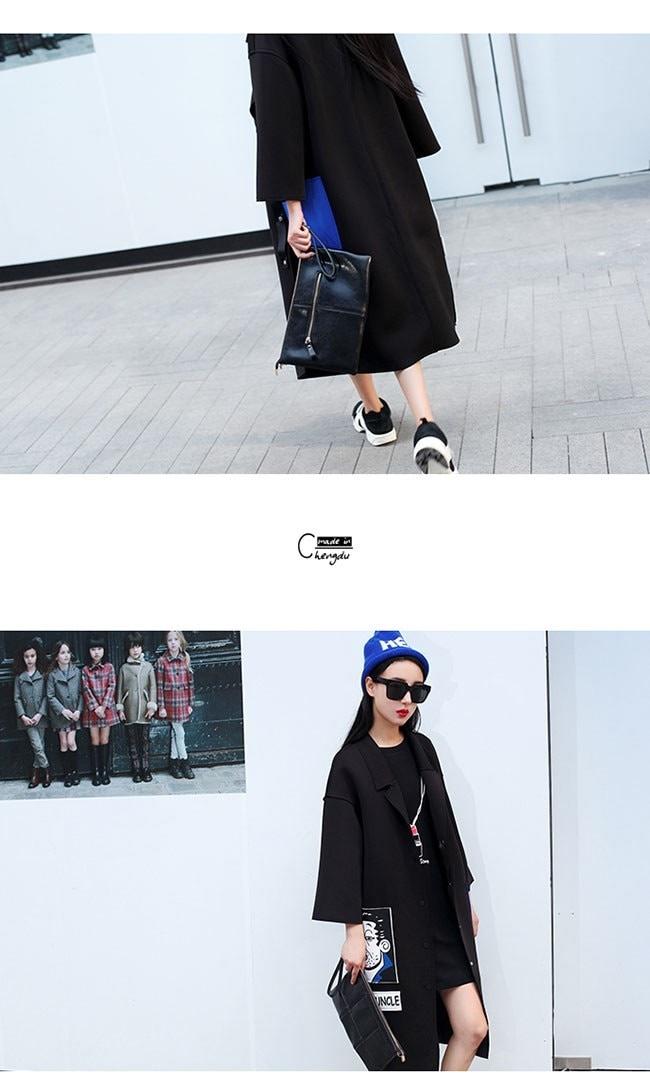 アウター コート トレンチコート レディース 女性 羽織 ロングコート 個性 ブラック オーバーサイズ トレンド