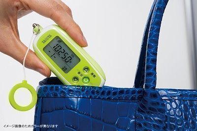タニタ(TANITA) 3Dセンサー搭載歩数計 [防犯ブザー付き] パープル FB-736-PP